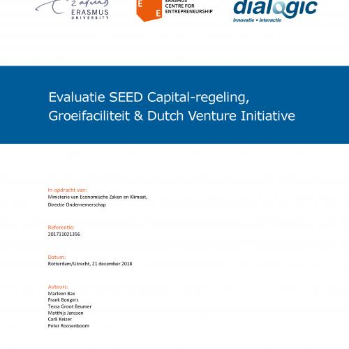Evaluatie SEED Capital regeling, Groeifaciliteit & Dutch Venture Initiative
