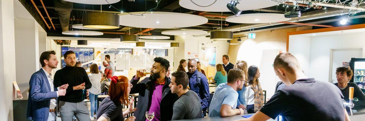 Erasmus Centre for Entrepreneurship, ECE, 15 november 2019. Foto Marco De Swart