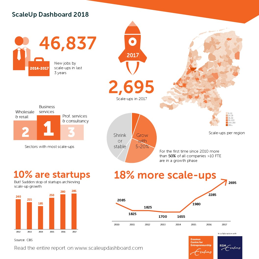 Infographic ScaleUp Dashboard 2018